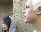 Blonde guys naked pubic hair and black gay long blond hair men porn