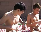 Make sure you watch until the end for a mysterious surprise gay outdoor orgy
