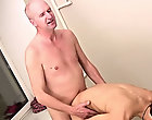 He then gave it to John  no one had before, with passion and feeling until they were both spent gay men and mature