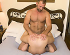 Gay rookie Luke came to us with his fantasy of being nailed by his favorite hung stud porn star, so we obliged him by br