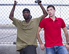 We found a thug wandering the rough streets of Miami chubby gay interracial