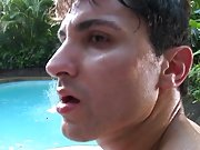 Alejandro couldn't take it towards the end begged for Castro's hot nut gay outdoor pissing clips
