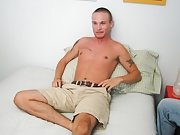 Cory is back again, if u remember he's six foot tall, and has a size 11 shoe along with a big cock masturbation illustrated men