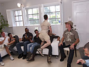 The guys were out of control, they couldn't keep their hands off of our strippers, or off of themselves florida gay group sex at Sausage Party