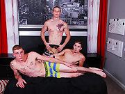 Group gay blowjobs and blowjob hairy group men