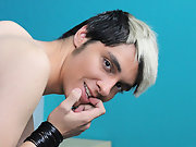 Rany Silva is a skinny blonde twink that's home all alone gay masturbation art at Boy Crush!