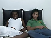 Donni and Cloud come back and this pair of boys are here to fuck black guys fucking white pussy