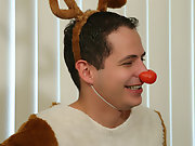 Ribald reindeer Renato was primed to settle down for a long winter's nap with jolly Johnny Maverick, but after Johnny unwrapped his ostentatious