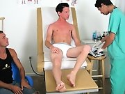 Looking over his cock and balls Dr. Phingerphuk asked if Mark had recently gotten off because he saw some dried up cum on his skin gay bed wetting fet