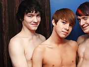 Josh proves his topping skills by joining Andy in double-teaming an avid Kyler Moss free redhead gay twink pics