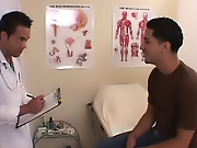 With my load on the doctor, he then was pooped and he got up to get me a tease free gay anal sex clips