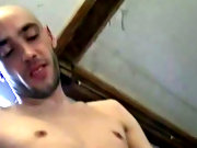 He gets let loose with bow-eyed, slim skin head, Eustus Hunt, who is an expert in taking huge dildos in his mouth and ass men bear bound and gagged