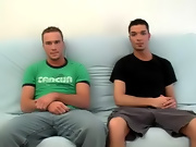 Then, the two of them started to back and forth giving head to Wes to get him hard hypnotized gay twinks