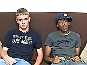 Ricky kept going and he started to jerk him off at the same time of giving him steer free gay interracial video