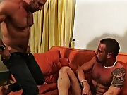 Loosening his hole with his two fingers, Axel knows just how much his cock is going to period Jake hairy gay men bear gallery at Alpha Male Fuckers