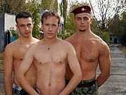 The gay cock licking scene is great and bequeath keep you captivated military naked men