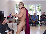 Gient gay group orgy and gay group sex partys at Sausage Party