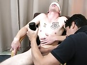 He was barely playing with himself, so when Mr. Hand walked over to begin his play Keith about pee'd his pants men mutually masturbating