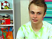Skylar Prince is a unalike nature of twink than the others we've featured before having first gay sex