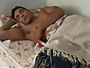 Hunky Rau has seen sexy dreams and he wakes up with the only thought about repeating his yesterday crossdressing experience once more male self mastur