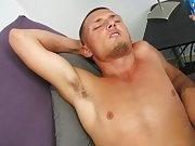 After I added the oil he really began to relax and let me do my thing guy masturbation technics
