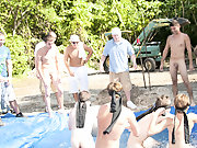 as punishment for losing these doomed pledges had to suck each their off in front of their brothers and fellow pledges nude mens group