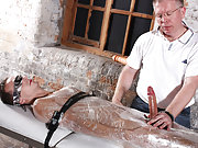 Bondage man videos and gay black uncut cock close up - Boy Napped!