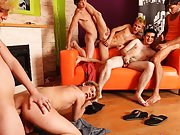 Gay male group sex origies post thumbnail pics free and long gay group sex at Crazy Party Boys