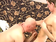 Finally the old man crooked over to be told Tim's thick dick, enveloping his cock with his tight asshole gay mature amature
