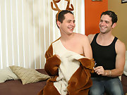 Ribald reindeer Renato was ready to settle down for a extended winter's doze with jolly Johnny Maverick, but after Johnny unwrapped his lavish yu