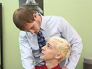 Twink gay orgy at My Gay Boss