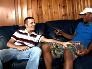 His first gay sex interracial gay gang bang