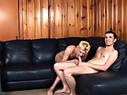 Tricking out a twink is as easy as teasing him with tales of runways and photo shoots teen gay sex first time boys