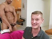 Barely fitting it in his mouth, Alex decided to see if his ass can do better naked men big dicks