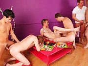 Gay fisting groups and free gay groups with pics at Crazy Party Boys