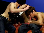 Josh proves his topping skills by joining Andy in double-teaming an avid Kyler Moss pictures of hot gay twinks